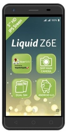 Acer Liquid Z6E Duo LTE