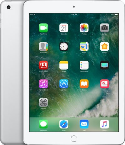 Apple iPad 9.7-inch 2017 5th gen A1823 TD-LTE 128GB  (Apple iPad 6,12)