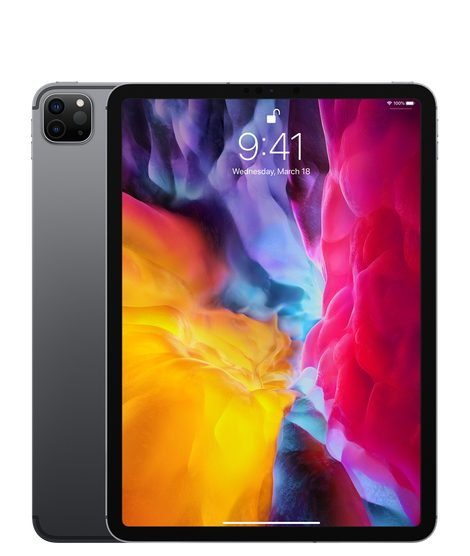 Apple iPad Pro 11-inch 2020 4th gen A2068 Global TD-LTE 128GB  (Apple iPad 8,10)