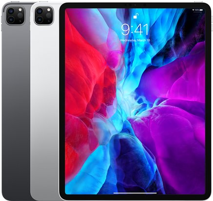 Apple iPad Pro 12.9-inch 2020 4th gen A2232 TD-LTE TW HK 128GB  (Apple iPad 8,12)