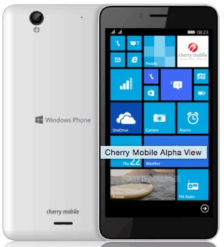 Cherry Mobile Alpha View Dual SIM