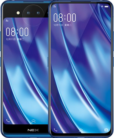 BBK Vivo Nex Dual Display Edition Dual SIM TD-LTE TW HK MY 128GB 1813  (BBK V1821)
