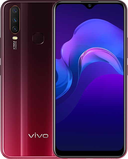 BBK Vivo Y12 2019 Standard Edition Dual SIM TD-LTE MY TH VN SG HK 64GB 1904  (BBK PD1901)