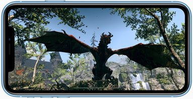 apple iphone xr ar elderscrollsblades