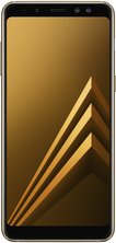 samsung galaxy a8 2018 front gold
