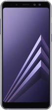 samsung galaxy a8 2018 front orchid