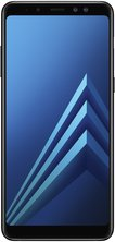 samsung galaxy a8 plus front black