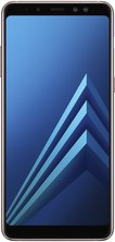 samsung galaxy a8 plus front blue