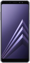 samsung galaxy a8 plus front orchidgray