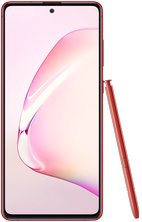 samsung galaxy note10 lite 29 aura red front with pen