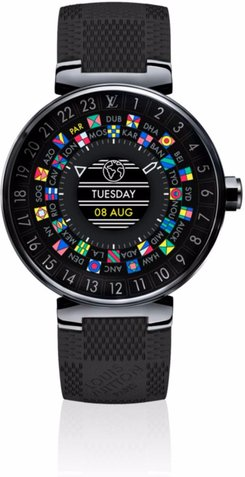 Louis Vuitton Tambour Horizon 42 Watch QAAA20 / QAAA21 / QAAA24 / QAAA25 / QAAA26 / QAAA27