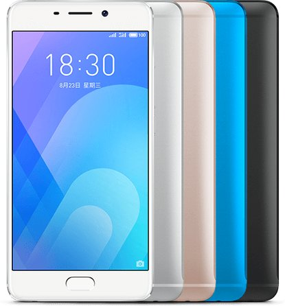 Meizu m6 note Global Dual SIM TD-LTE 64GB M721Q / Blue Charm Note 6  (Meizu Meilan Note 6)