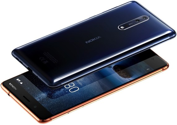 Nokia 8 Global Dual SIM TD-LTE 128GB  (HMD NB1)