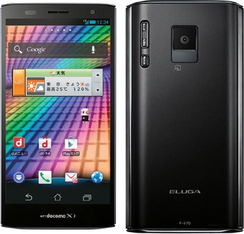 Panasonic Eluga Power P-07D