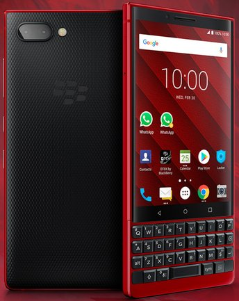 RIM BlackBerry KEY2 Red Eition BBF100-2 TD-LTE AM 128GB  (TCL Athena)
