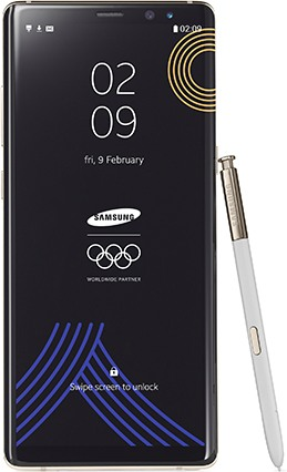 Samsung SM-N950F Galaxy Note 8 PyeongChang 2018 Olympic Games Limited Edition TD-LTE  (Samsung Baikal)